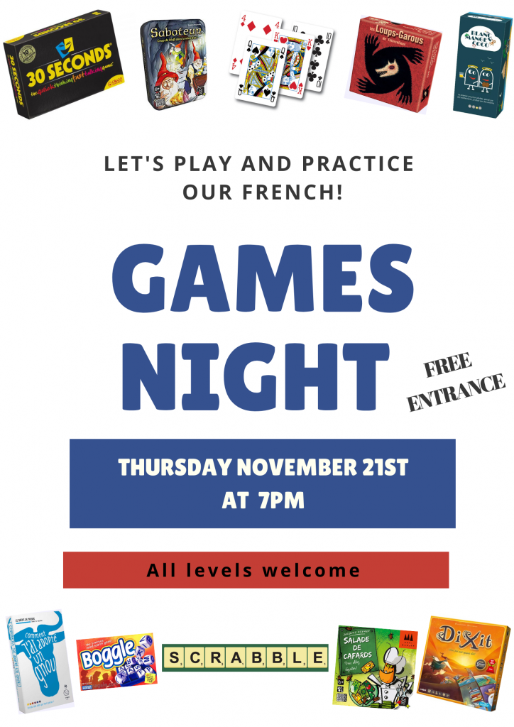 Games night 21.11