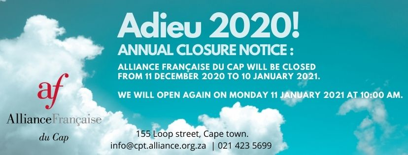 Annual closure website