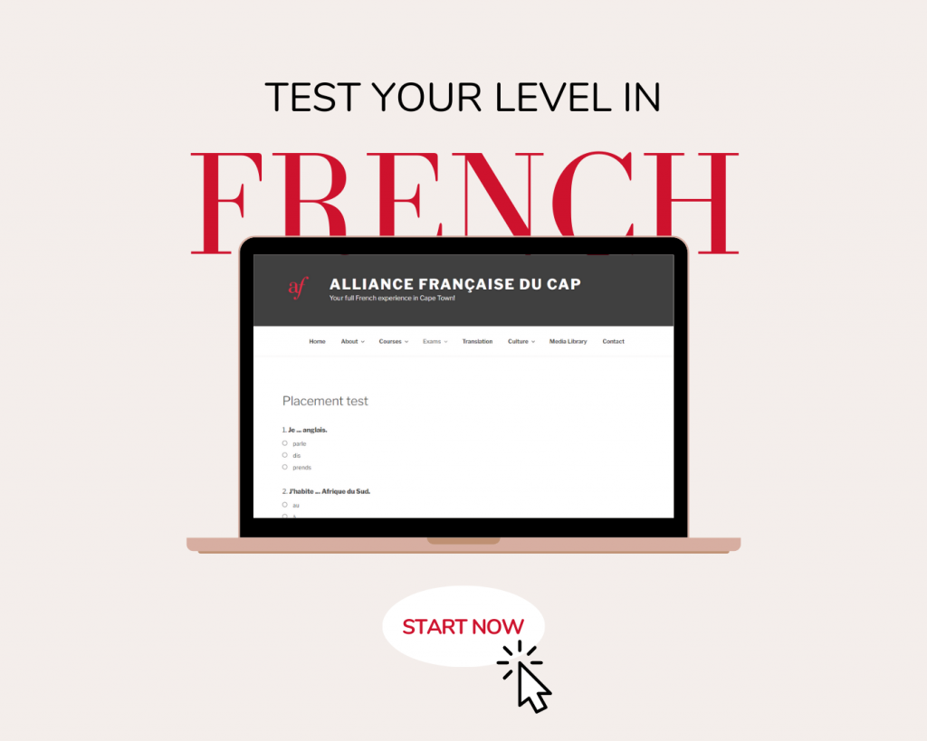 Online assessment in French