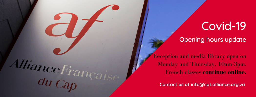 Alliance Française Covid 19 Opening hours update